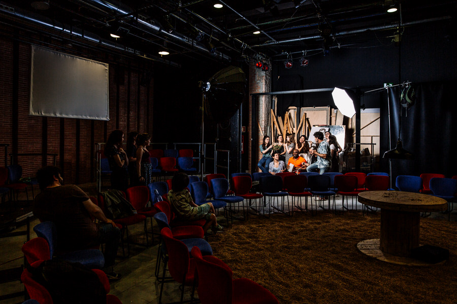 making of escenari brossa fotograf teatre