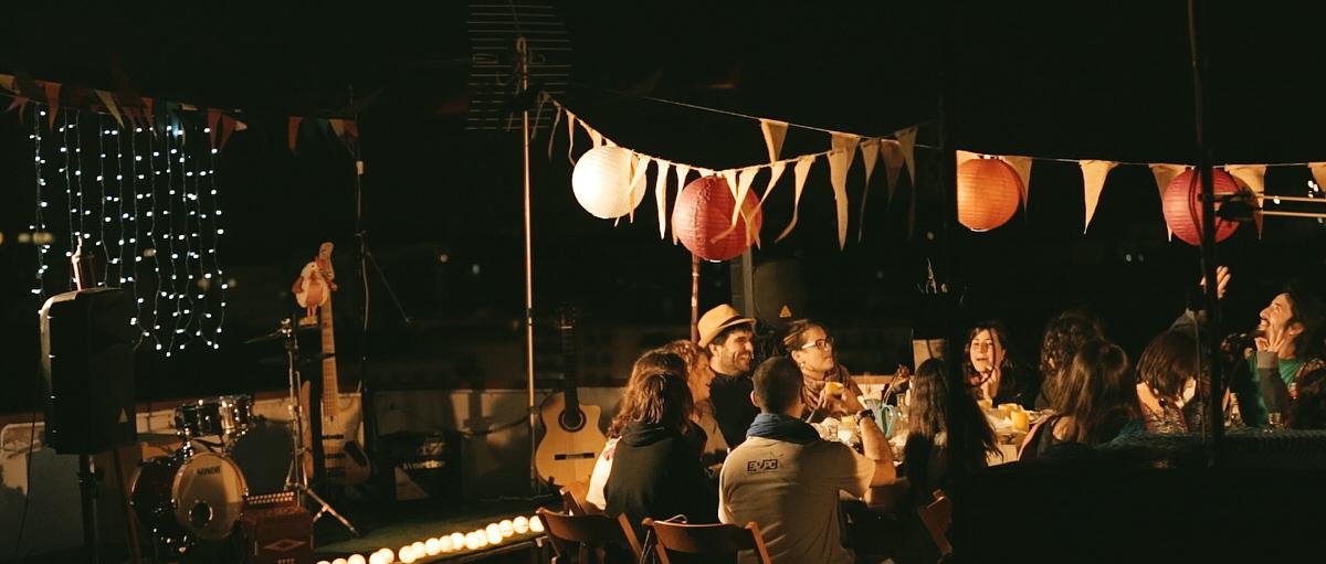 sopar a la fresca videoclip tarragona